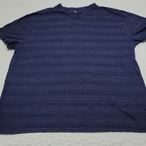 Calvin Klein V-Neck T-Shirt Sz Xl